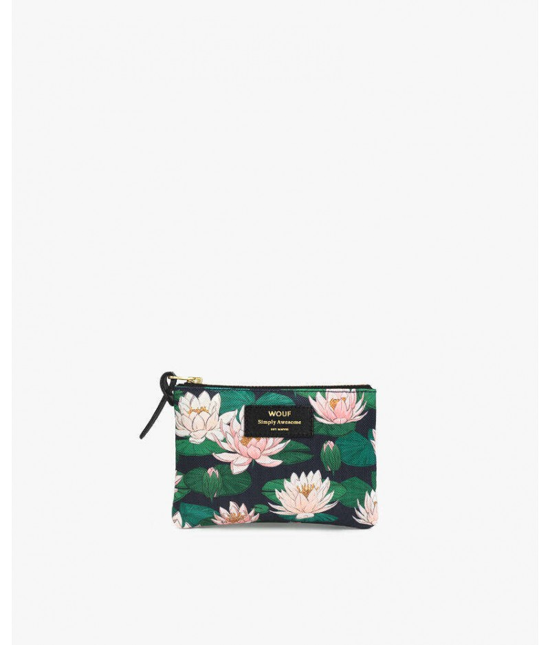 Petite pochette Nénuphares Small Pouch - Wouf