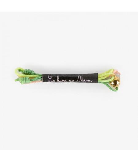 Cordon Lurex Rouge Vert - Le Bijou de Mimi