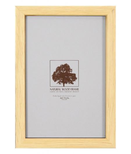 Cadre Bois Brut 13x18 cm