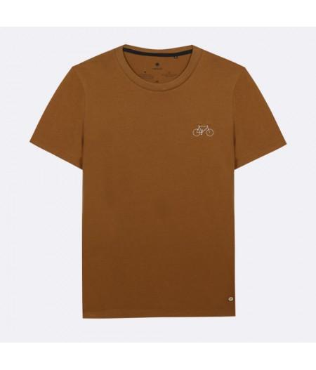 Arcy T-Shirt Cotton Vélo brodé - BRO08 - Faguo