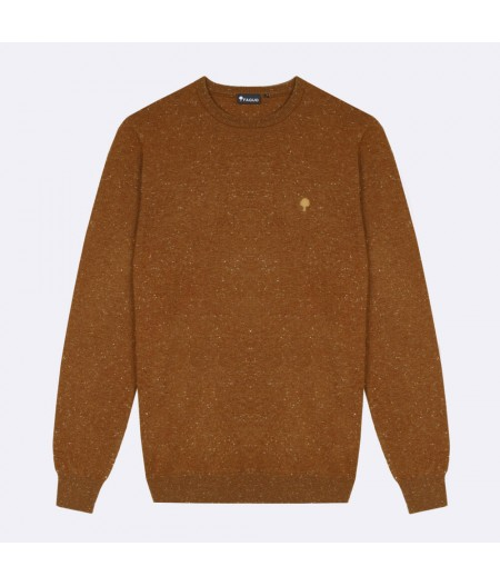Pull laine col rond Marly Sweater Wool - BRO08 - Faguo