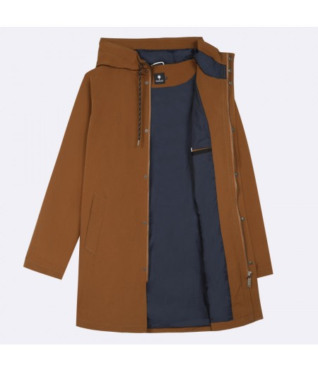 Gresigne Rain Coat Brown - Faguo
