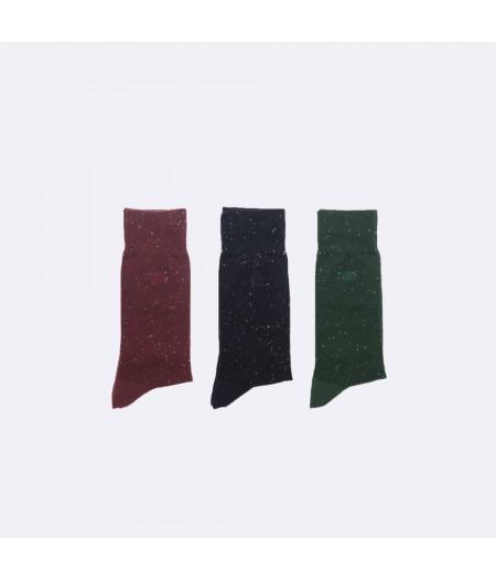 Chaussettes en coton pack de 3 - T42-45 - Faguo