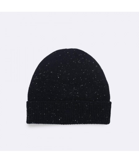 Bonnet Laine Navy20 Hat Wool - Faguo