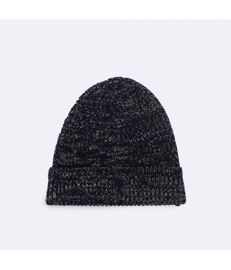 Bonnet Laine Navy19 Hat Wool - Faguo