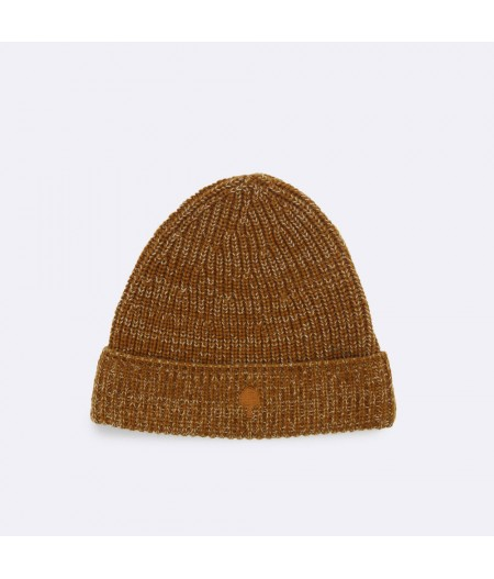 Bonnet Laine Brown Hat Wool - Faguo