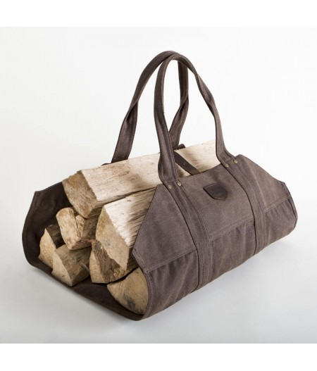 Sac à Buches LUMBERJACK - Marron - Alaskan Maker