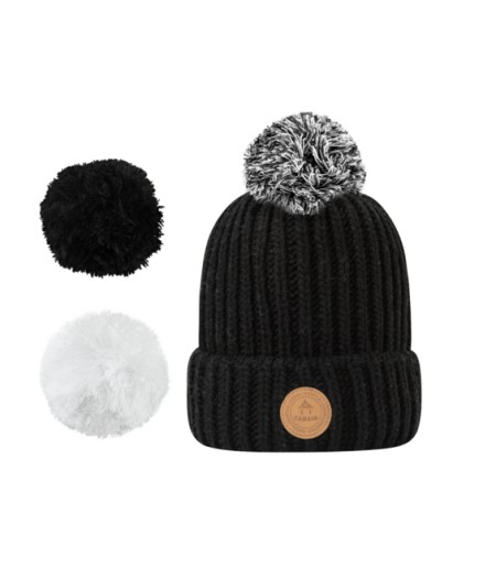Bonnets Cabaïa - Timeless - Appletini - Black Polar