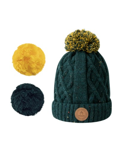 Bonnets Cabaïa - Timeless - Appletini - Green Polar
