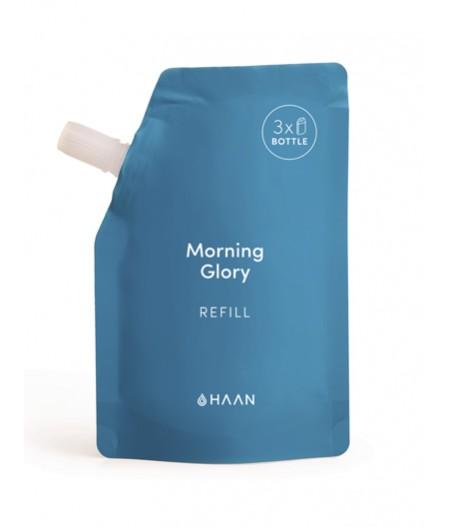 HAAN Pouch Morning Glory - Recharge pour Spray désinfectant hydratant pour les mains à l'aloé vera