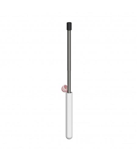 Skittle Straw For Life - White - Lund London Paille télescopique en métal
