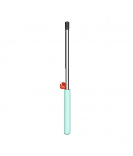 Skittle Straw For Life - Mint - Lund London Paille télescopique en métal