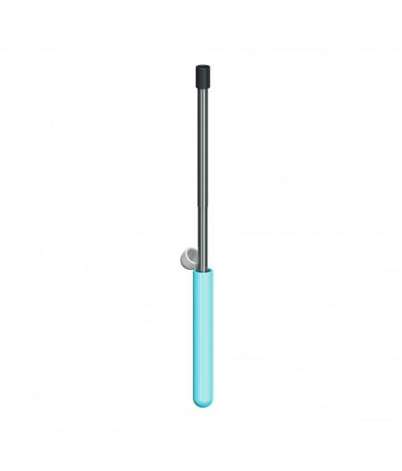 Skittle Straw For Life - Sky Blue - Lund London Paille télescopique en métal