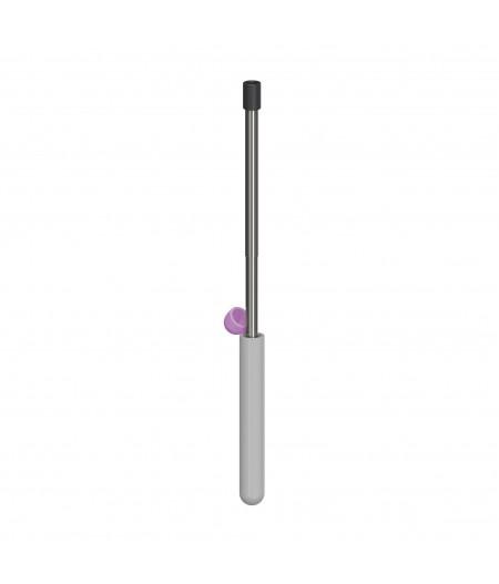 Skittle Straw For Life - Light Grey - Lund London Paille télescopique en métal