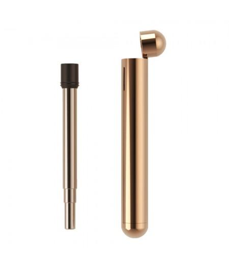 Lund Luxe Straw For Life - Rose Gold - Lund London Paille télescopique en métal