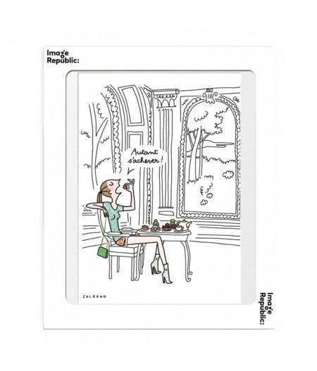 10.5x15 Soledad Autant S'achever - Carte Postale double avec enveloppe - Image Republic