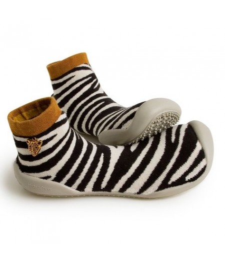 Chaussons Collégien - Zebra