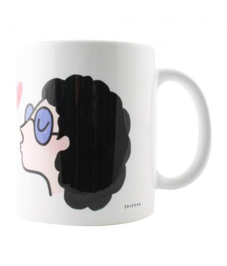Mug Frisee Lunettes - Soledad
