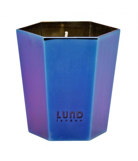 Bougie Parfumée Lund London Luxe - Oil Slick - Lime & Bergamot - Lund Luxe Lidded Candle
