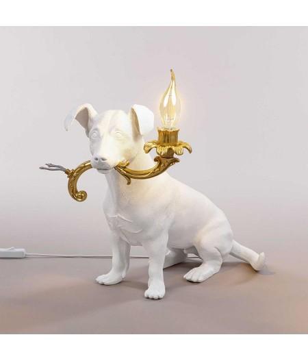 Lampe en résine Chien RIO LAMP Seletti