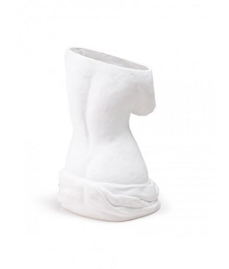 Milo Blanc Seletti - Porte-parapluie en fibre de verre