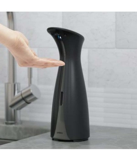 OTTO - Pompe à savon et gel hydroalcoolique automatique, 250ml, noir UMBRA