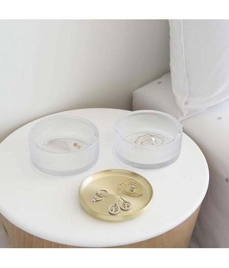Boite à bijoux Tesora en laiton UMBRA