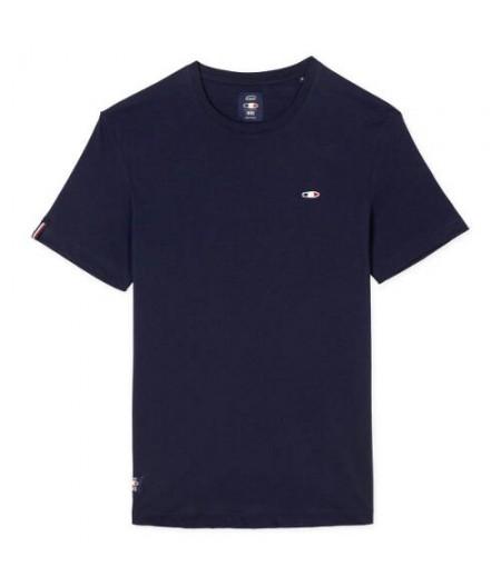 T Shirt bleu marine OXBOW 1985