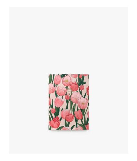carnet de note A6 tulipe