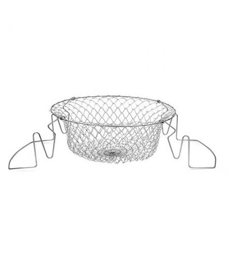 Panier friture pliable 24 cm – Cookut