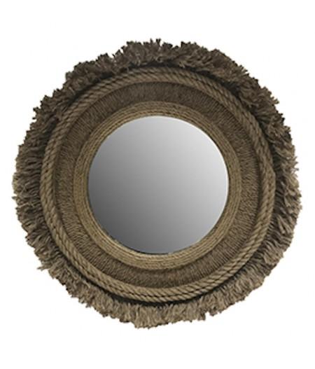 Miroir Corde Rond D102x5cm - Athezza