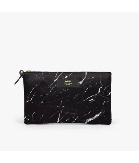 Pochette XL Black Marble - WOUF - XL Pouch