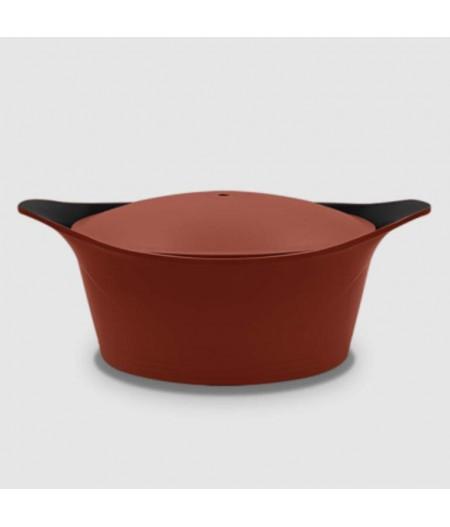 Cocotte Rouge 28 cm en fonte d'aluminium - Cookut