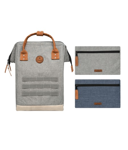 Sac à dos Cabaïa T.M NEW YORK - GREY CHINE PREMIUM 2021