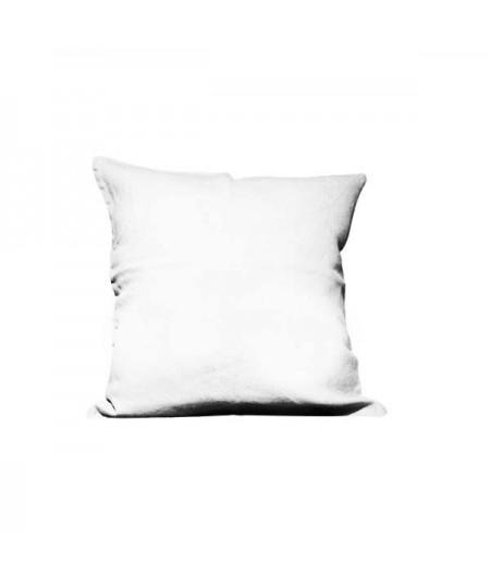 Coussin en lin Propriano Blanc Harmony 45x45 cm