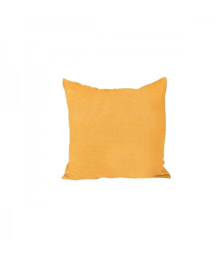 Coussin en lin Propriano Chamois Harmony 45x45 cm