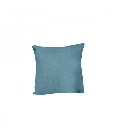 Coussin en lin Propriano Blue Stone Harmony 45x45 cm