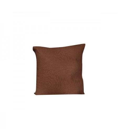 Coussin en lin Propriano Brick 59 Harmony 45x45 cm