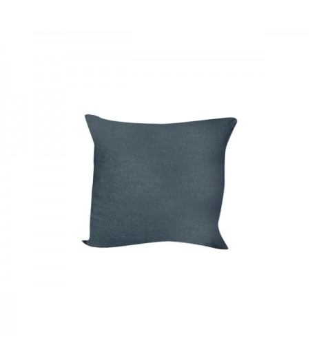 Coussin en lin Propriano Indigo Harmony 45x45 cm