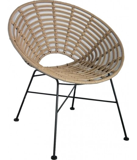 Fauteuil Toma 73x63H77cm - Athezza