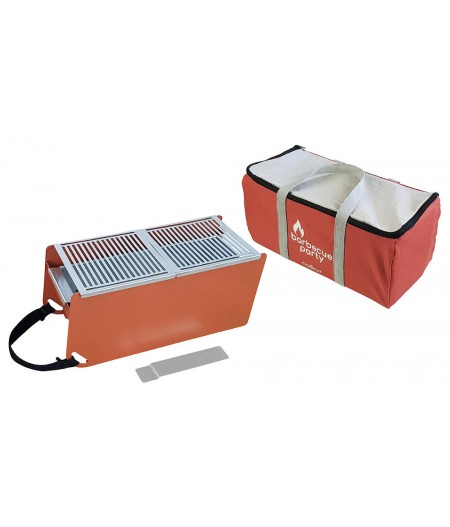 Pack Barbecue nomade Terracotta Yaki Cookut Accessoires et charbons