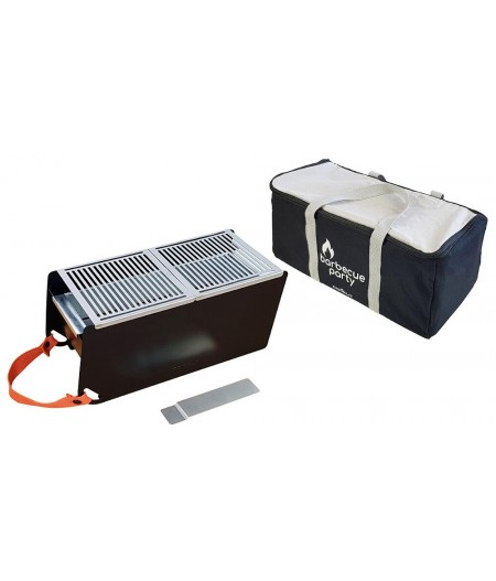 Pack Barbecue Nomade Noir Cookut