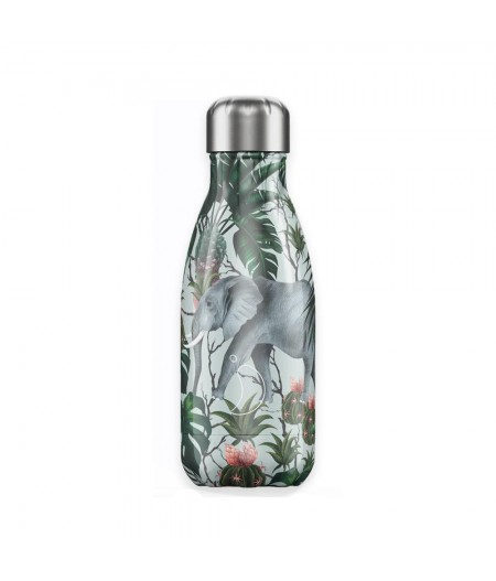 Gourde Thermos Tropical 260ml Eléphant Chilly's Bottles