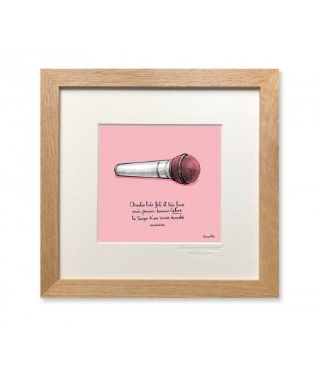 22x22 cm PDTC Edouard Pont Couleur 104 Celine - Affiche Image Republic