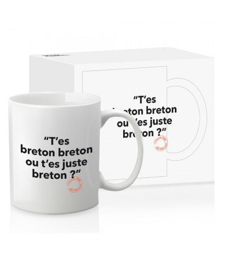 Mug Loic Prigent 103 T'Es Breton Breton - Image Républic