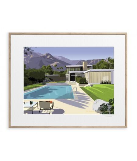 30x40 cm Paulo Mariotti Desert Kaufmann Hse - Affiche Image Republic