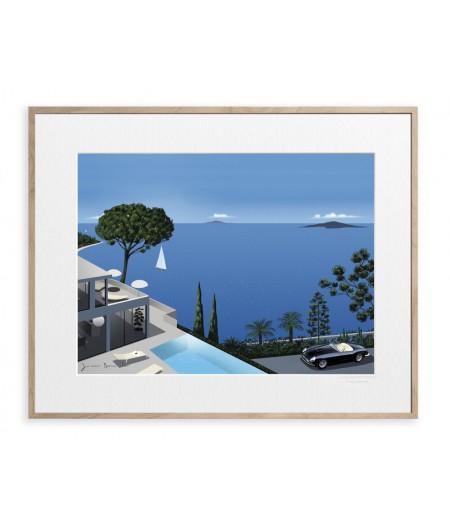 40x50 cm Jason Brooks 0004 Panorama - Affiche Image Republic