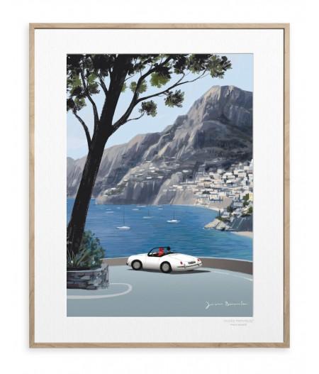40x50 cm Jason Brooks 0019 Italian Vibes - Affiche Image Republic