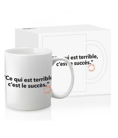 Mug Loic Prigent 096 Ce Qui Est Terrible C'Est Le Succes - Image Républic