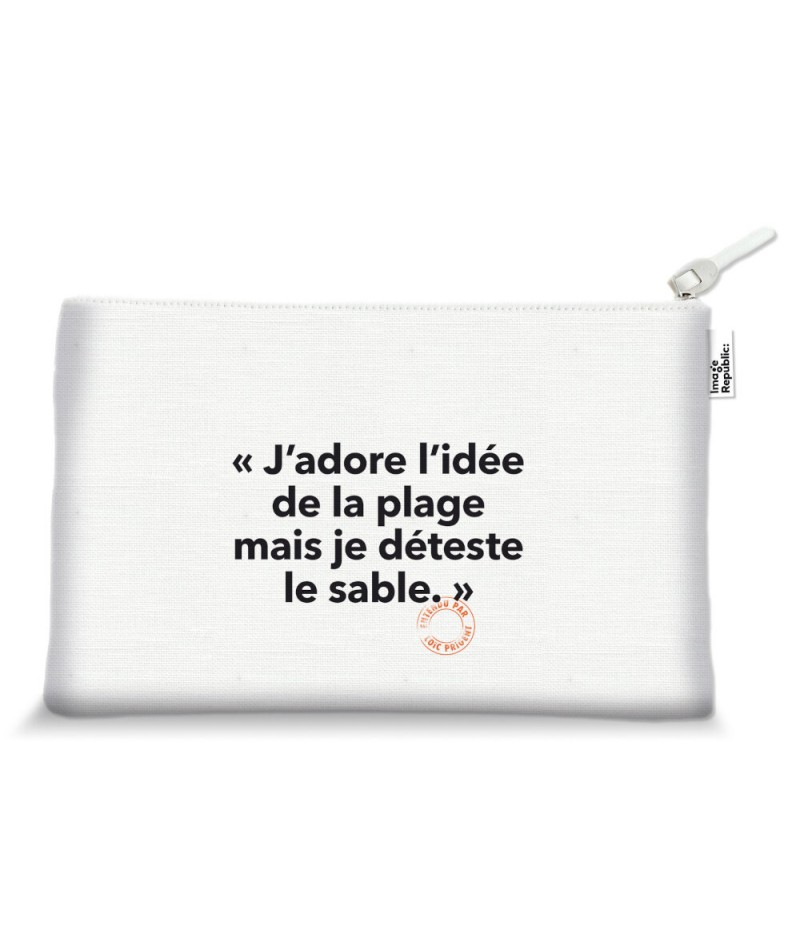 15X25 Cm Trousse Loic Prigent 90 J'Adore L'Idee - Image Républic